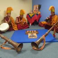 Tibetan Monks visit the Spiritual Enrichment Center