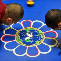 The Tibetan Refugee Monks Sacred Arts Tour